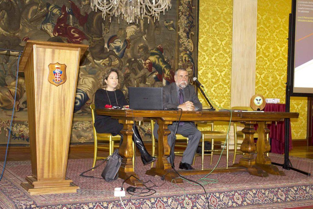 Gen. P. COSTA e dott.ssa M. GIANNINI